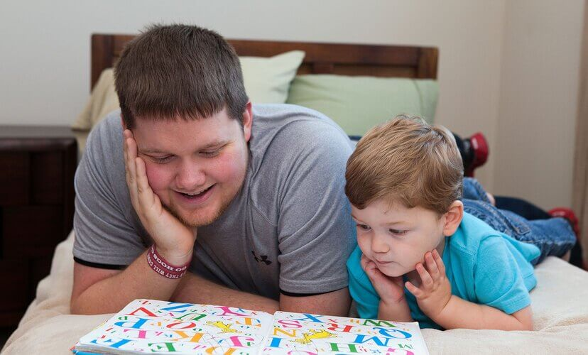 Ryan Gammon, resident at Mid-America Transplant Family House