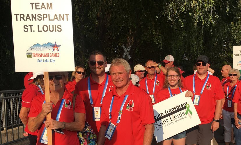 Join Team Transplant St. Louis