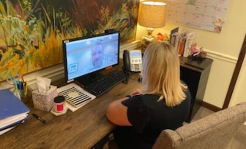 The NEA Baptist Center for Good Grief offers a teletherapy program.