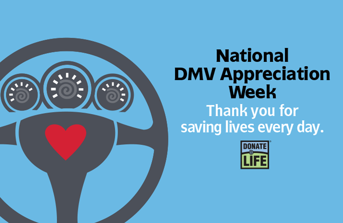 National DMV Appreciation Week Graphic